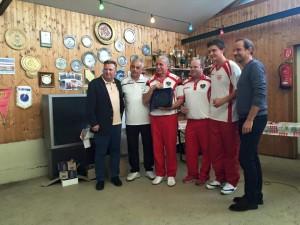 Sportstadtrat Dold F, Obmann Luif K, Schwab H, Wolfgang P, Wolfgang J, Stadtrat Egger D