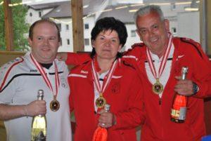 Sieger 2016, Wolfgang Philipp, Luif Margarethe, Luif Kurt / BC Hohenems