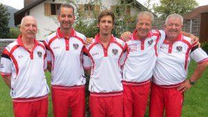 ILL Günther, Delegationsleiter/Mannschaft, Matic Enrico/Mannschaft, Klaus Simon, Einzel/Mannschaft, Natale Nicola/Mannschaft, Reinalter Gerhard/Techniker